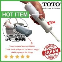 Toto travel portable bidet untuk backpacker YEW350 asli made in japan