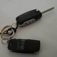 Alarm Mobil Model Remote Kunci Lipat - Flip Key Universal All New Rush