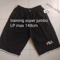 celana training fila super jumbo bigsize / gym surf jogging sport