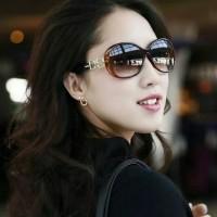 Kacamata wanita trendy kekinian korea style