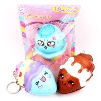 Squishy Licensed Ice Cream Mini Kawai 7cm SE118 Sanqi Elan