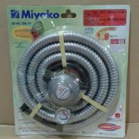 selang gas regulator gas paket miyako meteran