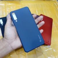 Case Samsung A7 2018 3 Tiga Kamera Soft Case Silikon Violet A7 2018