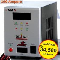 [Original] Imax Battery Charger Digital / Cas Aki BRT Mobil Jumbo 100A