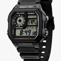 Jam Tangan Pria Digital Casio Original Pria AE-1200WHB-1A