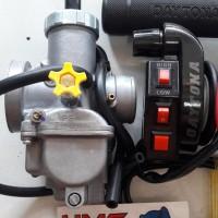 Paket Murah Karburator Nsr Keihin Pe28 Dan Gas Spontan Daytona Tombol