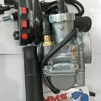 Paket Murah Karburator Nsr Keihin Pe28 Plus Gas Spontan Rideit Tombol