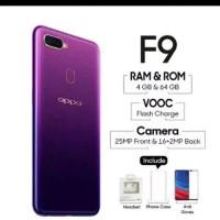 OPPO F9 Ram 4GB Internal 64GB Starry Purple