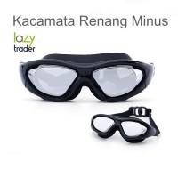 Kacamata Renang Minus Big Frame (Myopia) - Swim Goggles