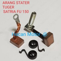 ARANG COOL STATER CARBON BRUSH TIGER SATRIA FU 150 BEST QUALITY