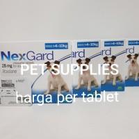 obat kutu anjing ampuh NEXGARD, 6-10 kg