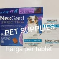 obat kutu anjing ampuh & komplit NEXGARD SPECTRA, size L (15-30 kg)