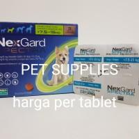 obat kutu anjing NEXGARD SPECTRA size M, super ampuh dan komplit