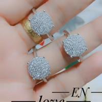 xuping cincin lapis emas putih terlaris 0962