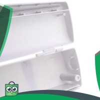 Pemotong Wraptastic Food Wrap Makanan Plastik Wrapping dispenser