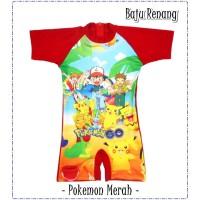Baju Renang Anak TK Laki-laki POKEMON