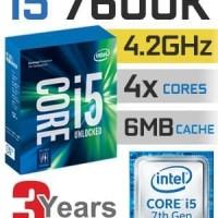 Intel Core i5 7600K Processor LGA 1151 KABYLAKE 4.20GHz 7600