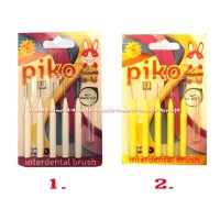Piko Interdental Brush Toothbrush Sikat Gigi Dengan Ujung Kecil