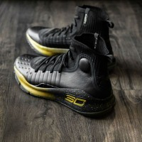 Under Armour Curry 4 Finals Black Gold""
