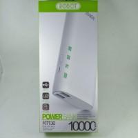 Power Bank PowerBank Robot RT130 10000 mAh 2 USB Ports 2A White