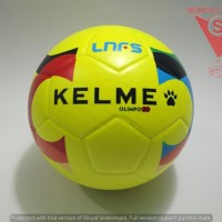 BOLA FUTSAL - KELME OLIMPO20 ORIGINAL OLIMPO20LIME PRESS