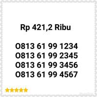Nomer Cantik Simpati Seri Urut 4 Angka 1234-0813 6199 1234 Rapih H12
