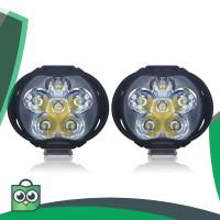 Lampu Tembak Motor LED High Beam 1000 Lumens 2PCS - U5
