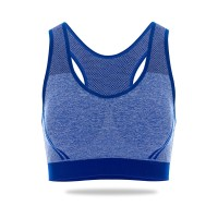 Nathalie Sports Bra Seamless Premium Stripe Mini Racer Back NTB 3270