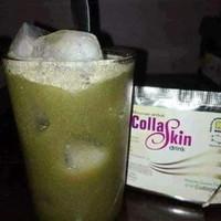 Collaskin Drink match green tea