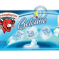 The Laughing Cow Belcube - Plain 24 cubes cheese spread