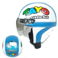 Helm Anak Karakter Tayo The Little Bus