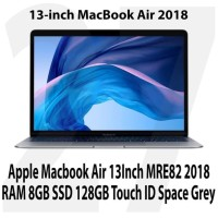 Apple Macbook Air 13Inch MRE82 2018 RAM 8GB SSD 128GB Touch ID Grey