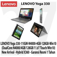 LENOVO Yoga 330-11IGM N4000 4GB 128GB 11.6In Touch X360 Win10