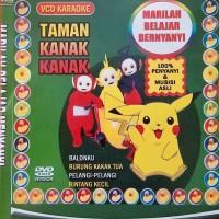 Kaset VCD Belajar Menyanyi Lagu Anak Anak Versi Karoke