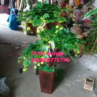 bonsai anggur bunga plastik