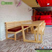 Furniture Cafe, Kayu Jati Belanda, Meja Bangku Cafe | CICILAN 0%