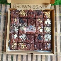 Brownies mix aneka toping
