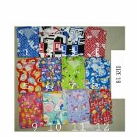 Baju Tidur Piyama Anak Katun Karakter Size 16 Usia 12-13 tahun