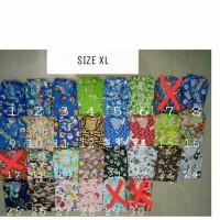 Baju Tidur Piyama Anak Katun Motif Karakter size XL usia 3-4th