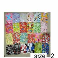 Baju Tidur Piyama Anak Katun Karakter Size 12 Usia 9-10