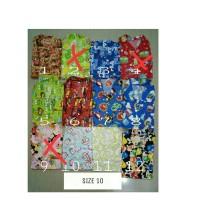 Baju Tidur Piyama anak katun karakter Size 10 Usia 6-8th