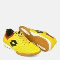 Sudah Sol - Sepatu Futsal Pria Kulit asli Kuning J7 - Sepatu sepakbola