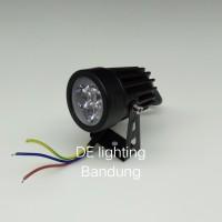 Lampu sorot Led Mini 3 watt warm white / spot light outdoor - indoor