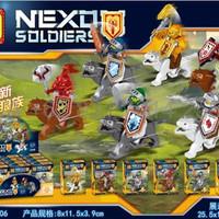 TERLARIS Lele 92006 1 6 set Nexo Soldiers
