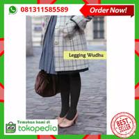 Legging Wudhu Muslimah / Celana Panjang Stocking Wudhu Spandek
