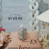 xuping cincin lapis emas putih 24k 1079
