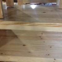 Meja cafe, meja lesehan, meja belajar dari bahan jati belanda
