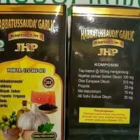 Kapsul Habbatussauda Garlic 5 in 1 JHP Isi 205 kapsul