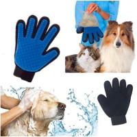 true touch sarung tangan pemijat pijat hewan pet grooming gloves sisir