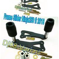Frame slider ninja 250 fi 2018 new pelindung fairing slider body